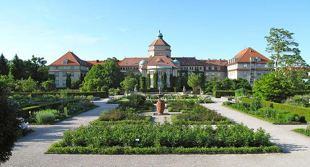 Muenchen Lese Botanischer Garten Munchen Nymphenburg